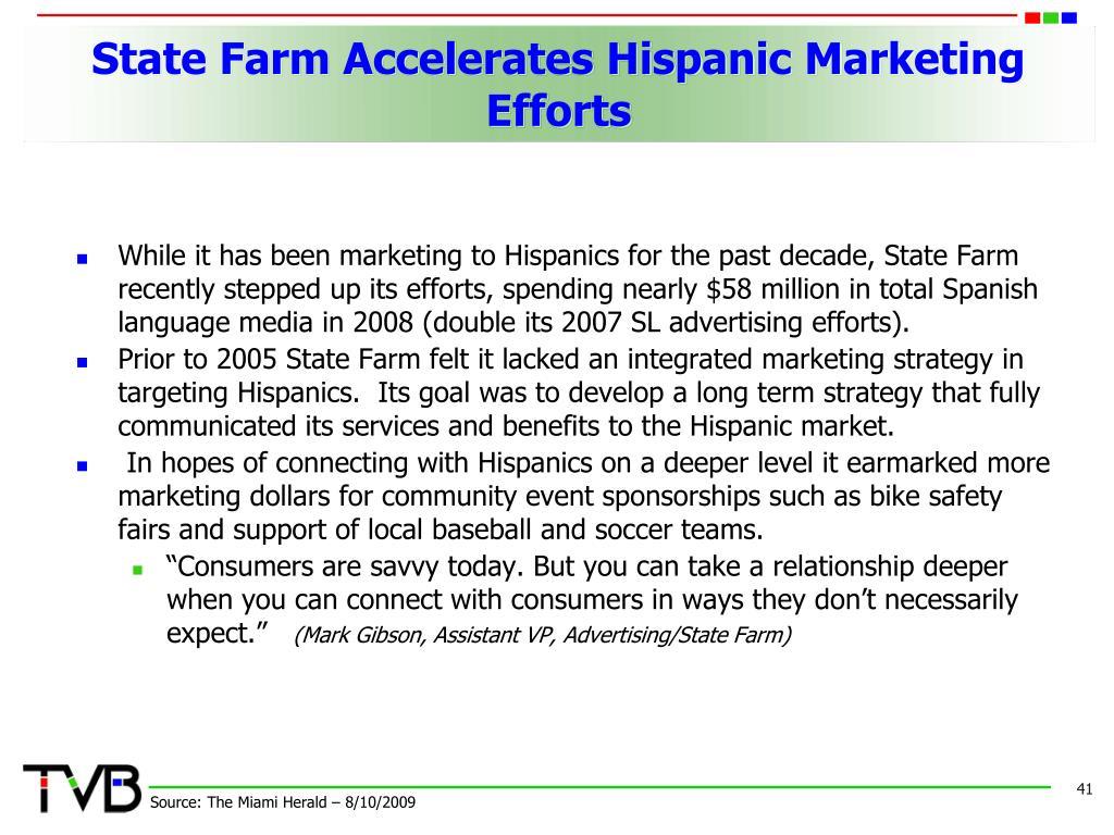 State Farm Accelerates Hispanic Marketing