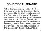 conditional grants8