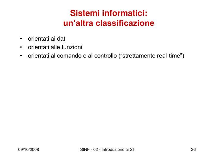 Sistemi informatici: