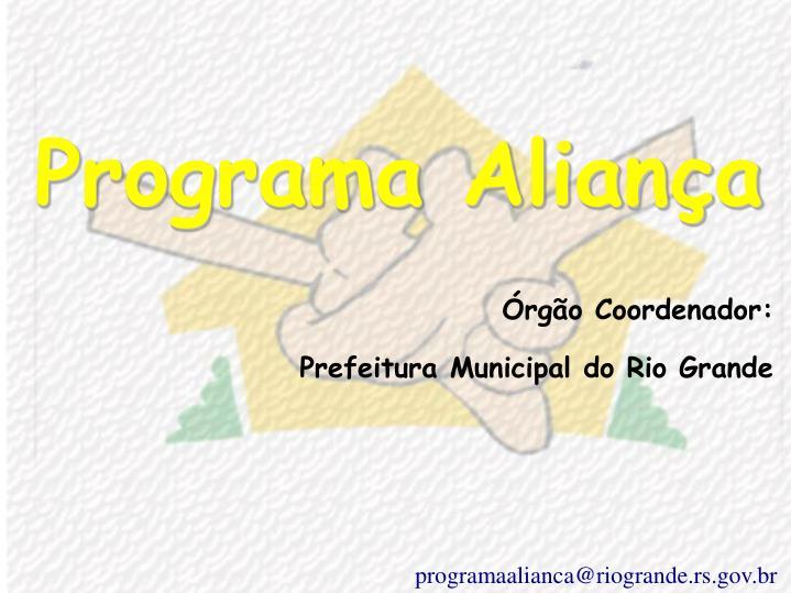 Programa Aliança