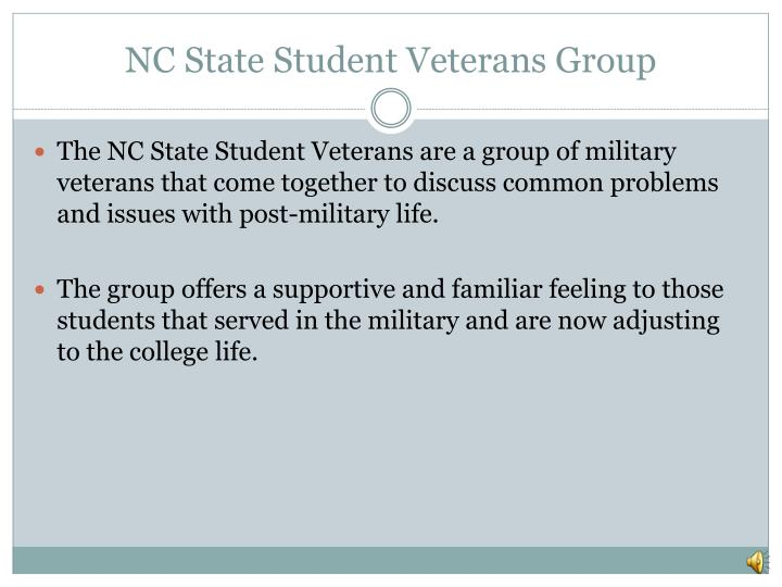 NC State Student Veterans Group