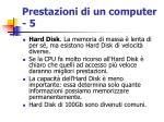 prestazioni di un computer 5