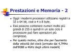 prestazioni e memoria 2