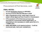 procurement of prof services cont1