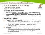 procurement of public works construction cont2