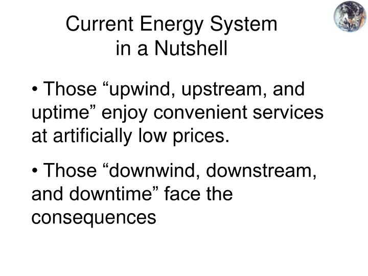 Current Energy System