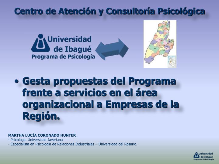 Centro de Atención y Consultoría Psicológica