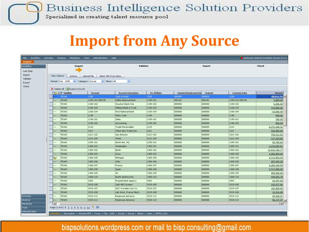 Import from Any Source