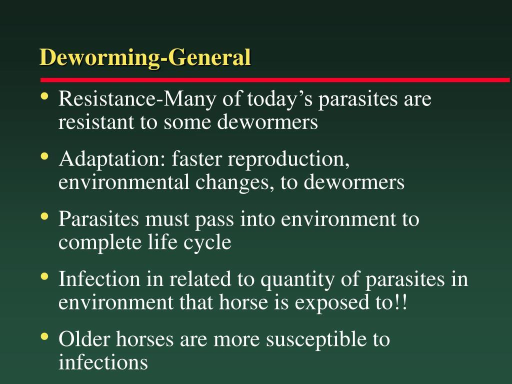 Deworming-General