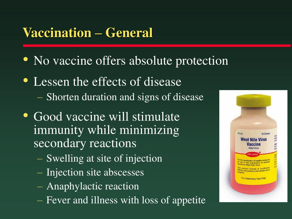Vaccination – General