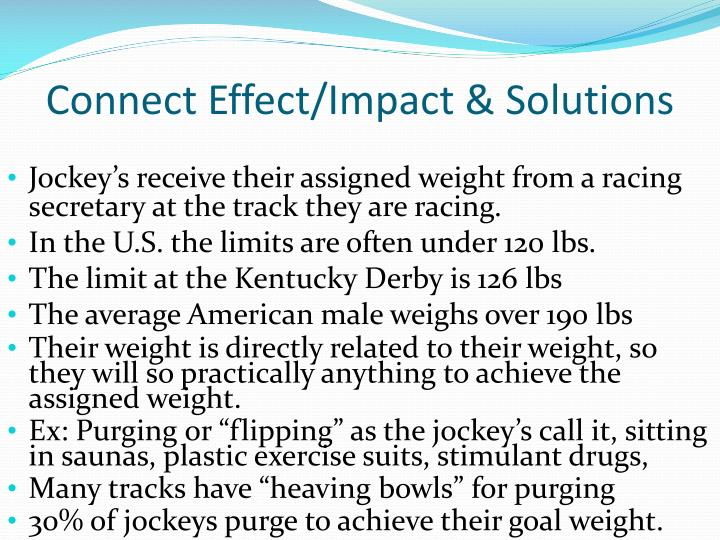 Connect Effect/Impact & Solutions