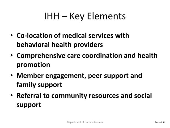 IHH – Key Elements