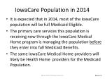 iowacare population in 2014