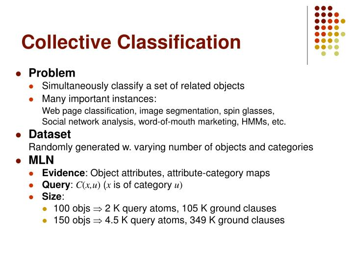 Collective Classification
