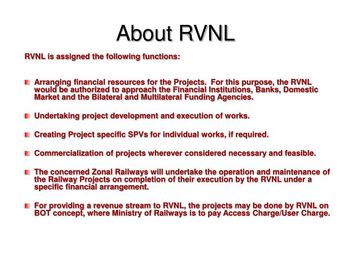 About RVNL