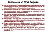 bottlenecks of rvnl projects