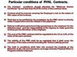 particular conditions of rvnl contracts