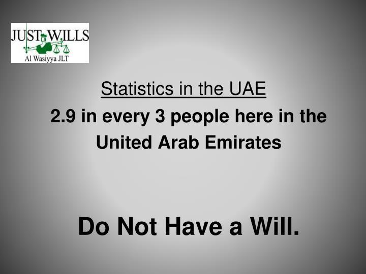 Statistics in the UAE