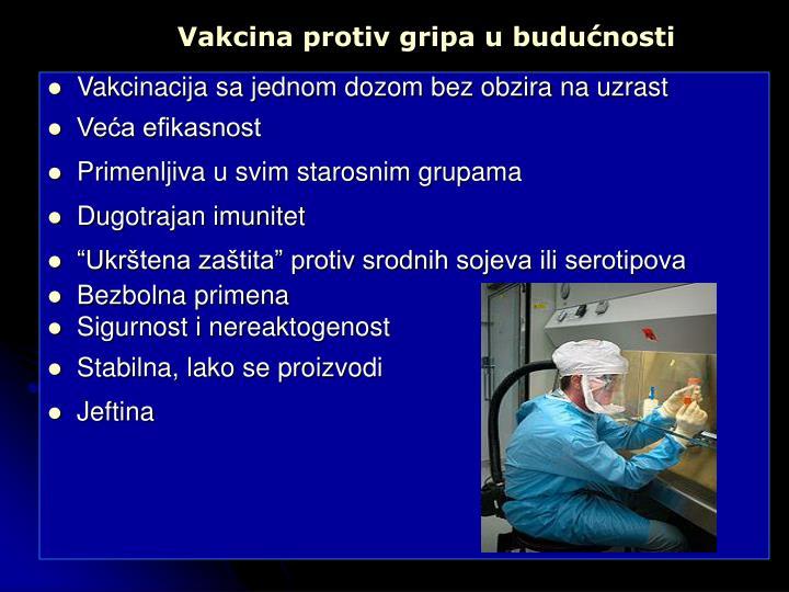 Vakcina protiv gripa u budućnosti