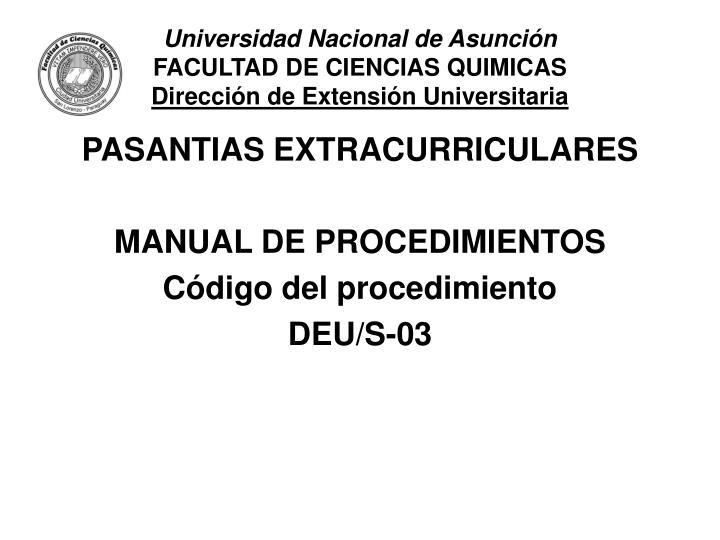 Universidad Nacional de Asunción