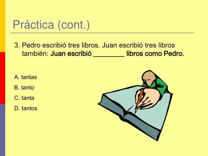 Práctica (cont.)