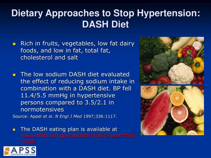 Dietary Approaches to Stop Hypertension:
