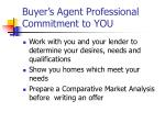 buyer s agent professional commitment to you