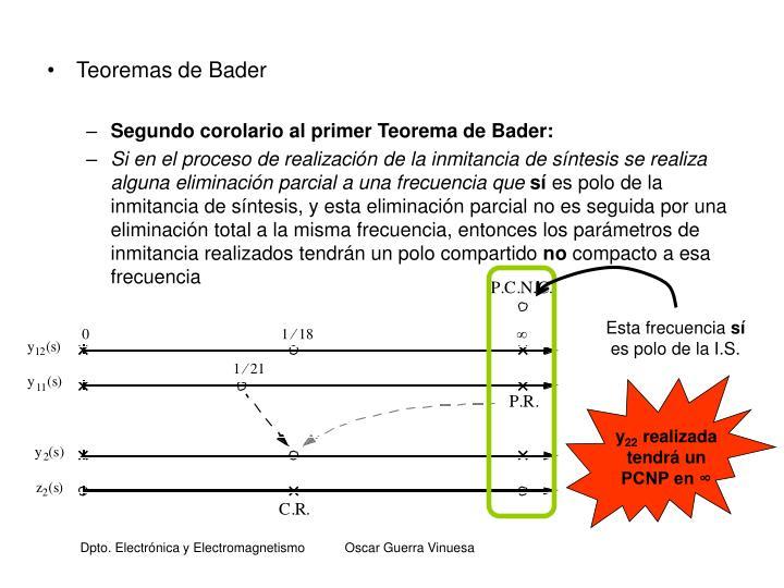 Teoremas de Bader
