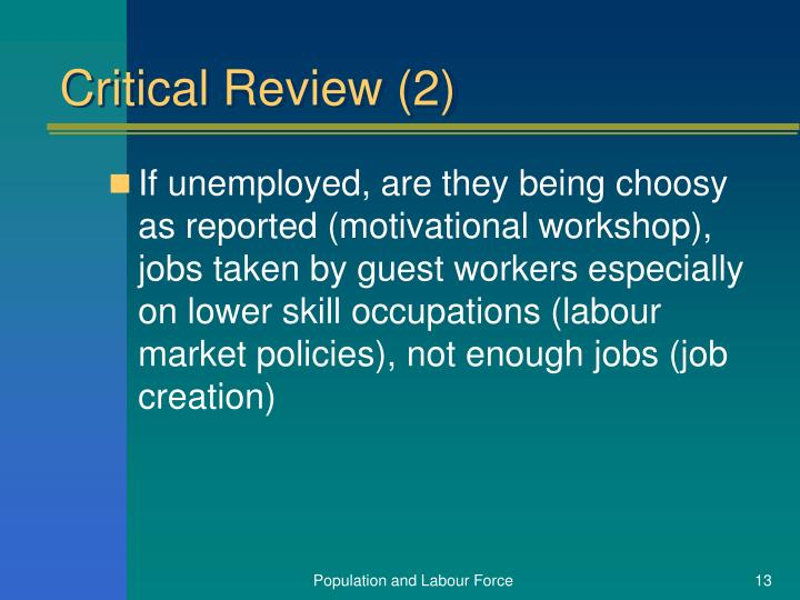 Critical Review (2)