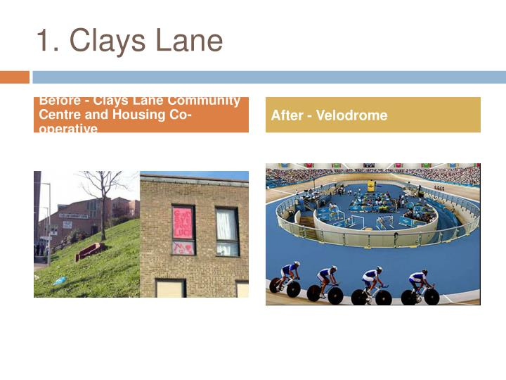 1. Clays Lane