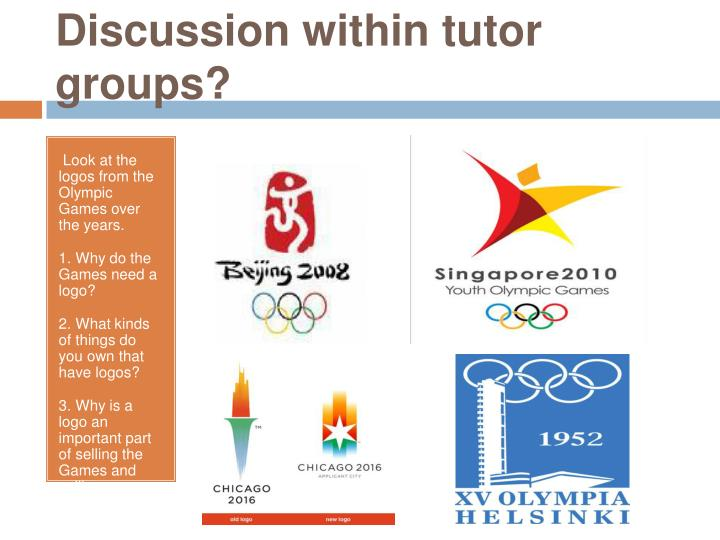 Discussion within tutor groups?