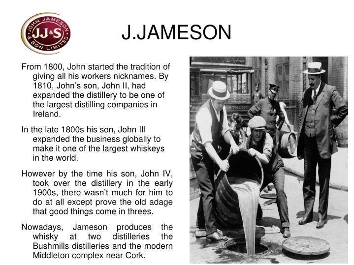 J.JAMESON