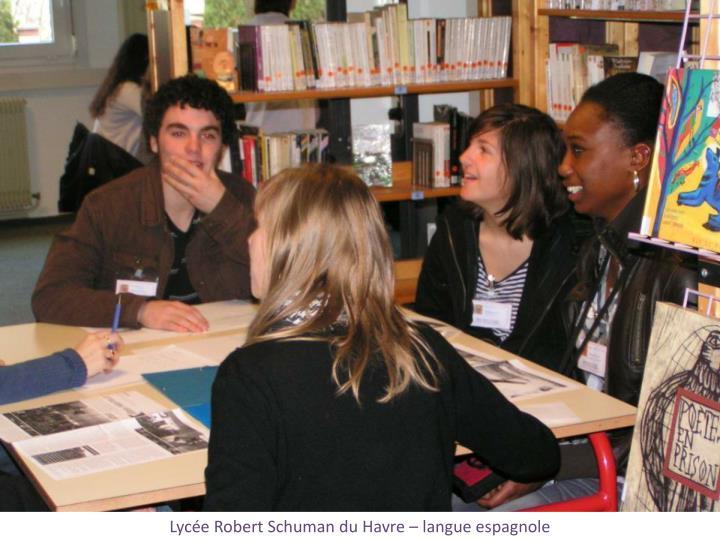 Lycée Robert Schuman du Havre – langue espagnole