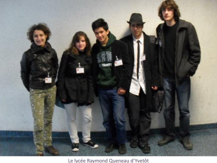 Le lycée Raymond Queneau d'