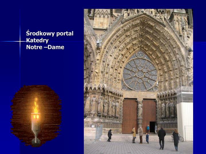 Środkowy portal
