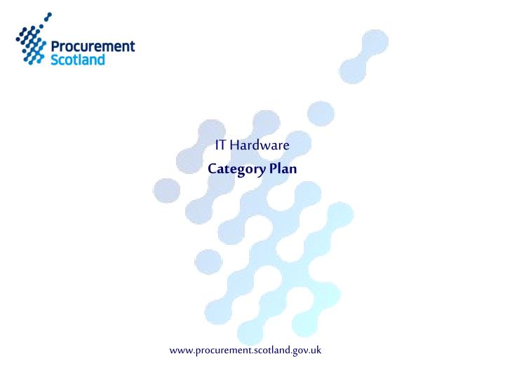It hardware category plan