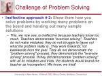 challenge of problem solving2