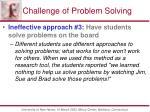 challenge of problem solving3
