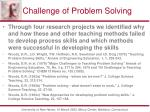 challenge of problem solving4