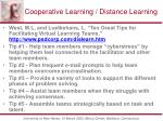 cooperative learning distance learning4