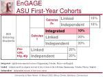engage asu first year cohorts