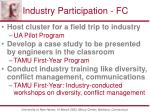 industry participation fc