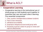 what is acl1