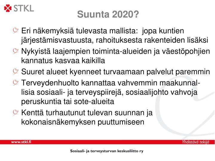 Suunta 2020?