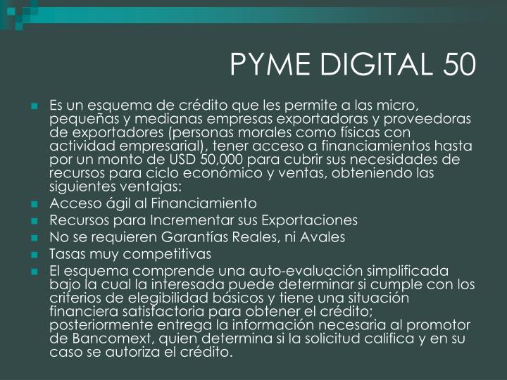 PYME DIGITAL 50