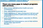 there are many gaps in today s programs and services