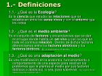 1 definiciones