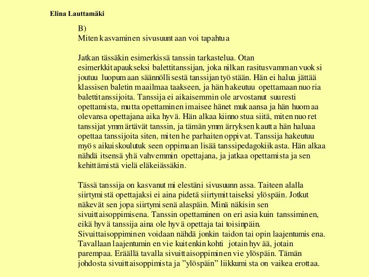 Elina Lauttamäki