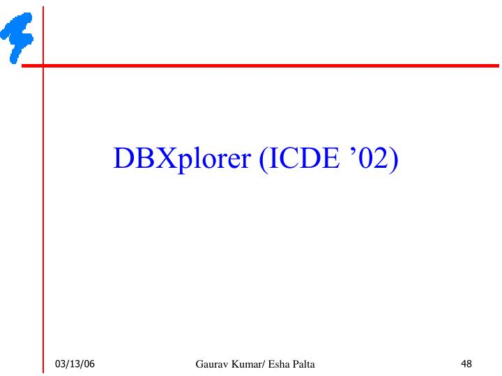 DBXplorer (ICDE '02)