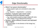 edge directionality1